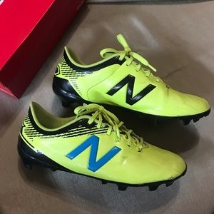 Neon Yellow New Balance Soccer Cleats